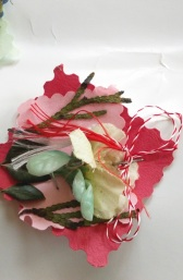 Martisor, a traditional gift to mark the coming of Spring made by our students